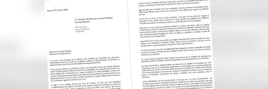 Notre lettre ouverte à Monsieur le Premier Ministre