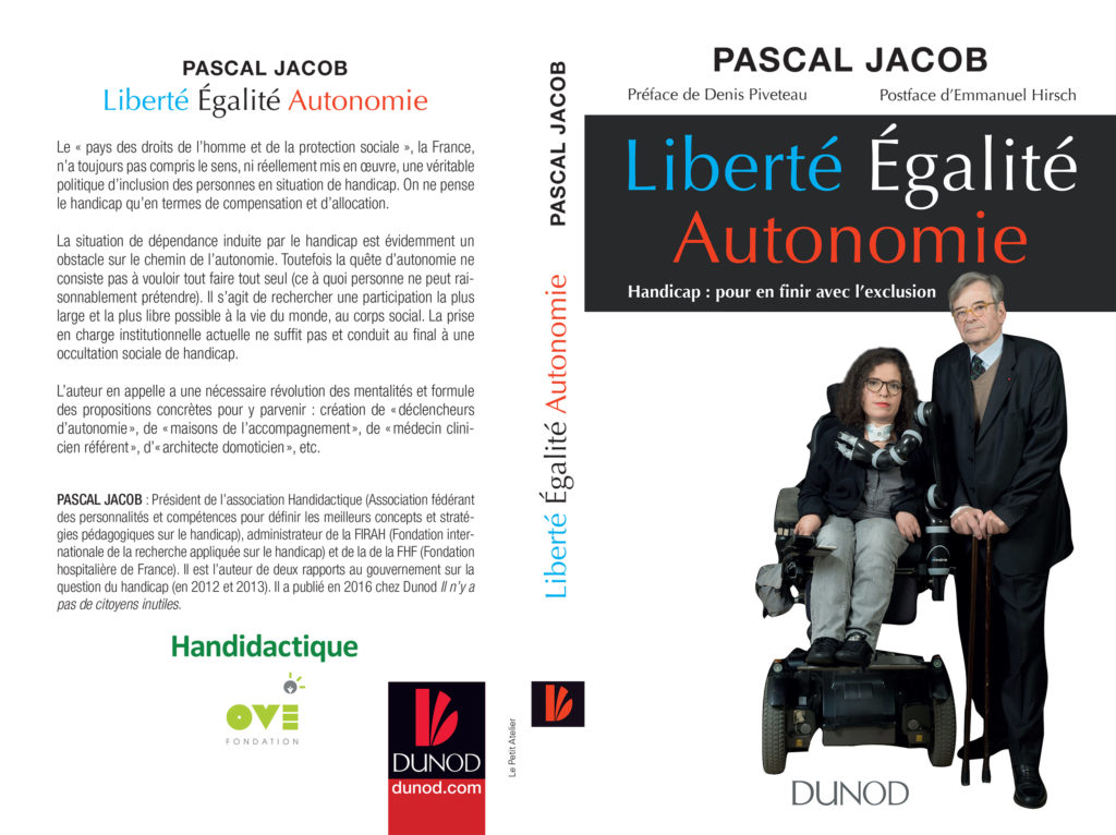 """Découvrez le livre """"Liberté Égalité Autonomie"""" le 1er Avril dans vos librairies 1"""