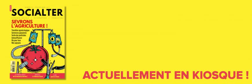 Pascal Jacob interviewé dans le dernier numéro de Socialter