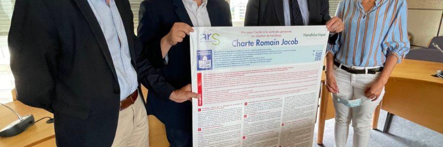 Signature de la charte Romain Jacob CPAM Bas-Rhin et Haut-Rhin 3